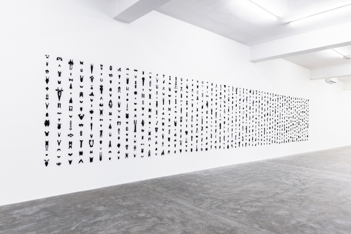 Timo Nasseri, The Order Of Everything, 2019, Painted steel, 750 pieces