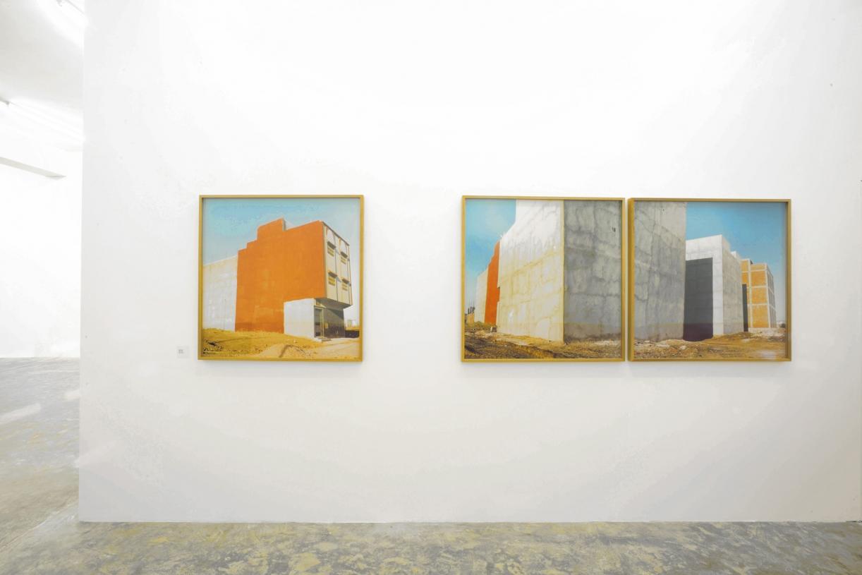 Red Walls - Tangier, 2006. Exhibition view Sfeir-Semler Gallery, Beirut, 2010