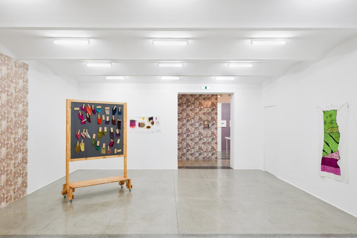 The Sample Book, 2016, Installation views Secession, Wien. ©Iris Ranzinger