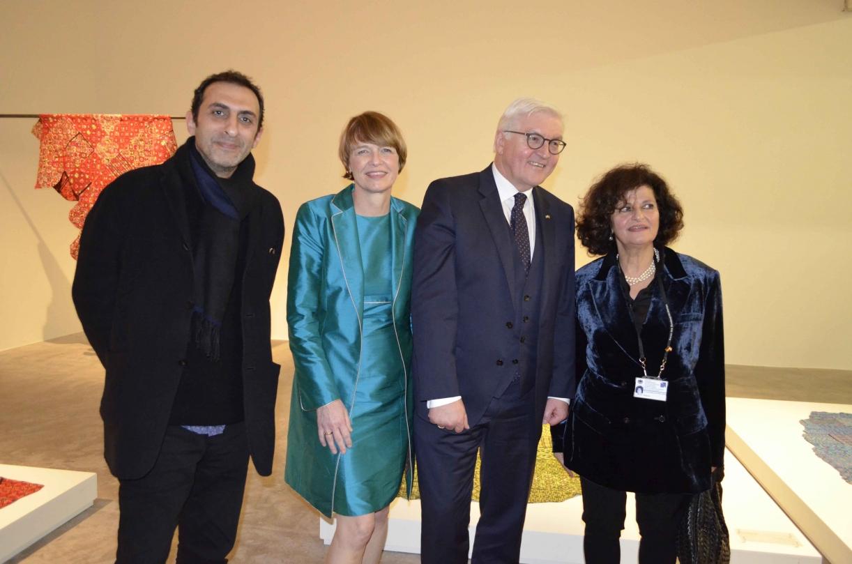 Official visit: President of Germany at the Sfeir-Semler Gallery Beirut