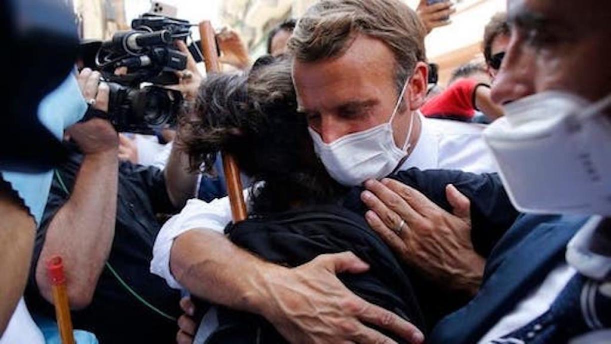 Beirut Blast, President Macron meets the people