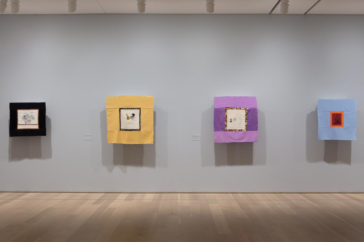 Mounira Al Solh:I strongly believe in our right to be frivolous, 2018, Exhibition view, Art Institute Chicago