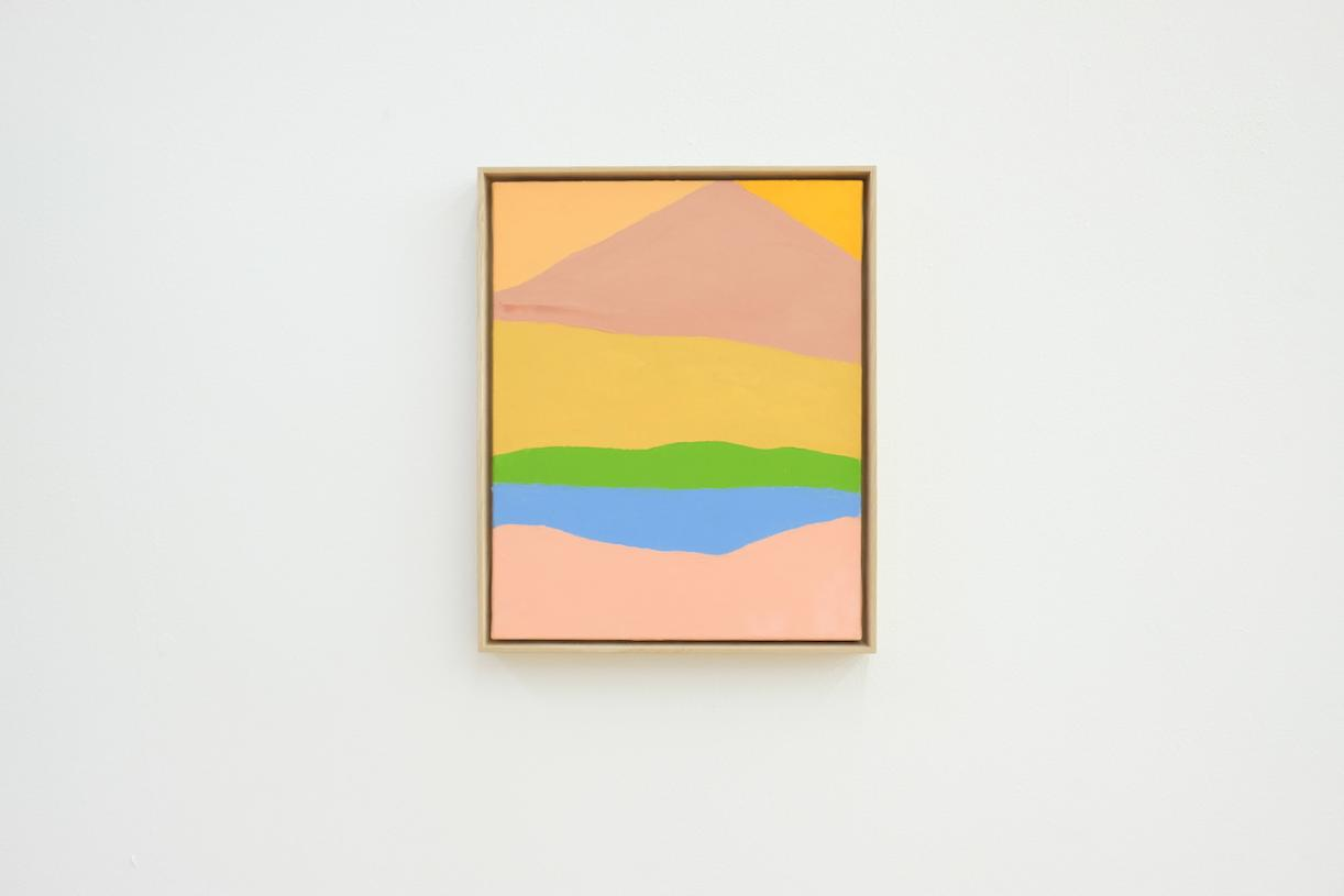 Untitled, 2018, Oil on canvas, 43.2 x 35.5 cm