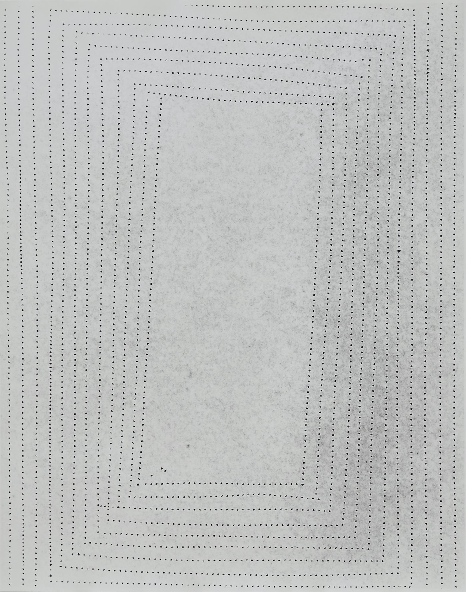 Practice Piece (Sewing Excerise #21W), 2019, Silver gelantin print, 53 x 40cm