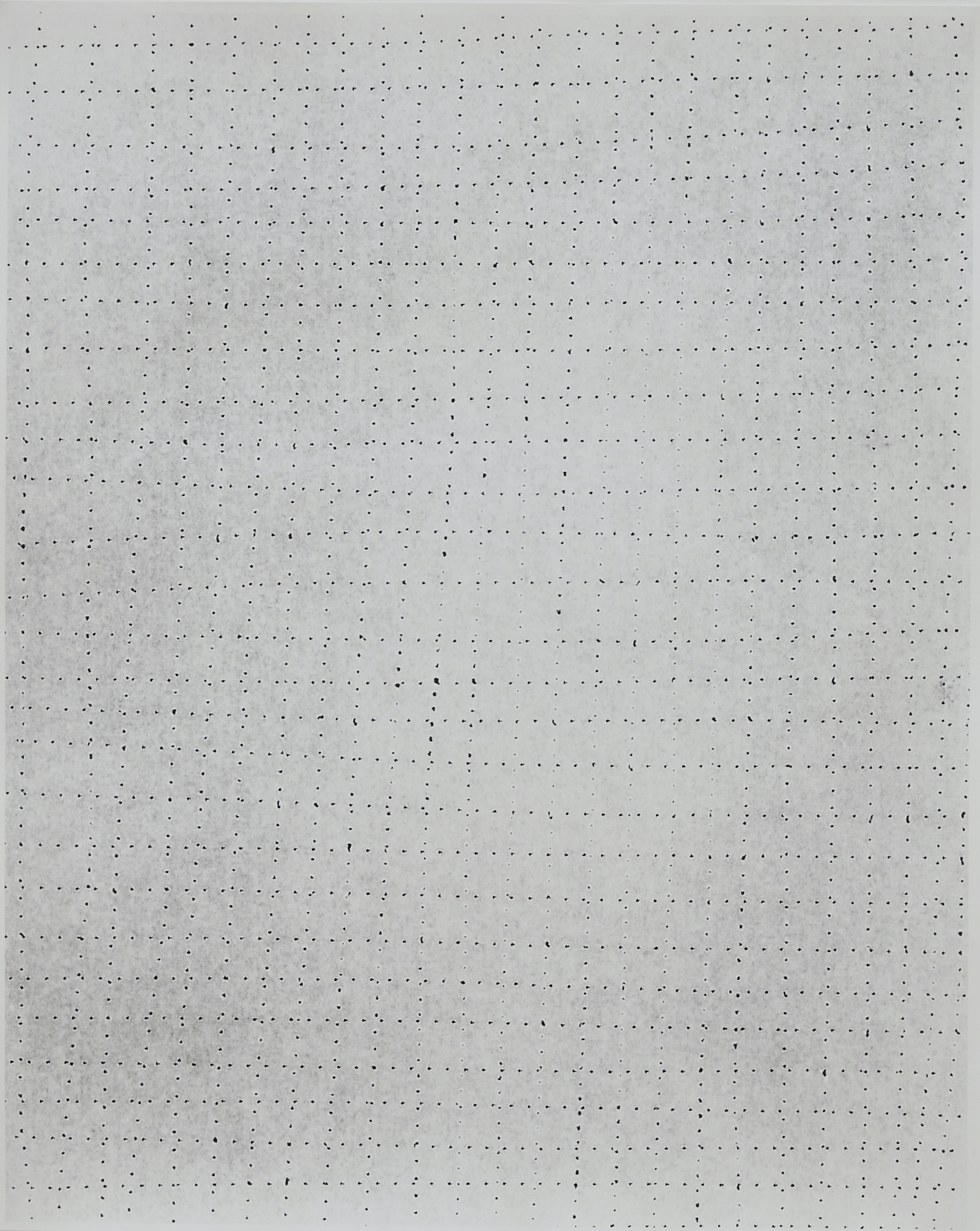 Practice Piece (Sewing Excerise #22W), 2019, Silver gelantin print, 53 x 40cm
