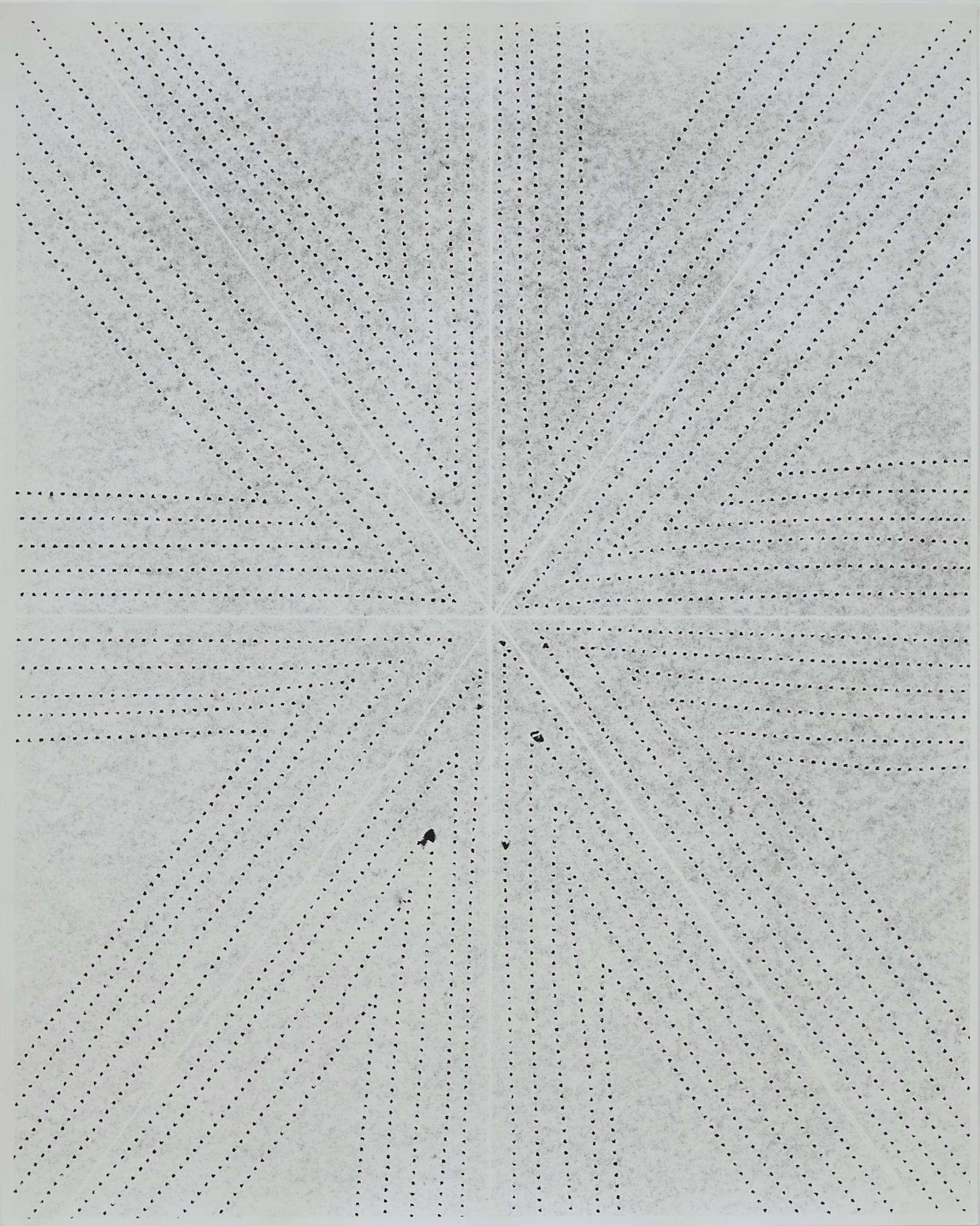 Practice Piece (Sewing Excerise #5W), 2019, Silver gelantin print, 53 x 40cm