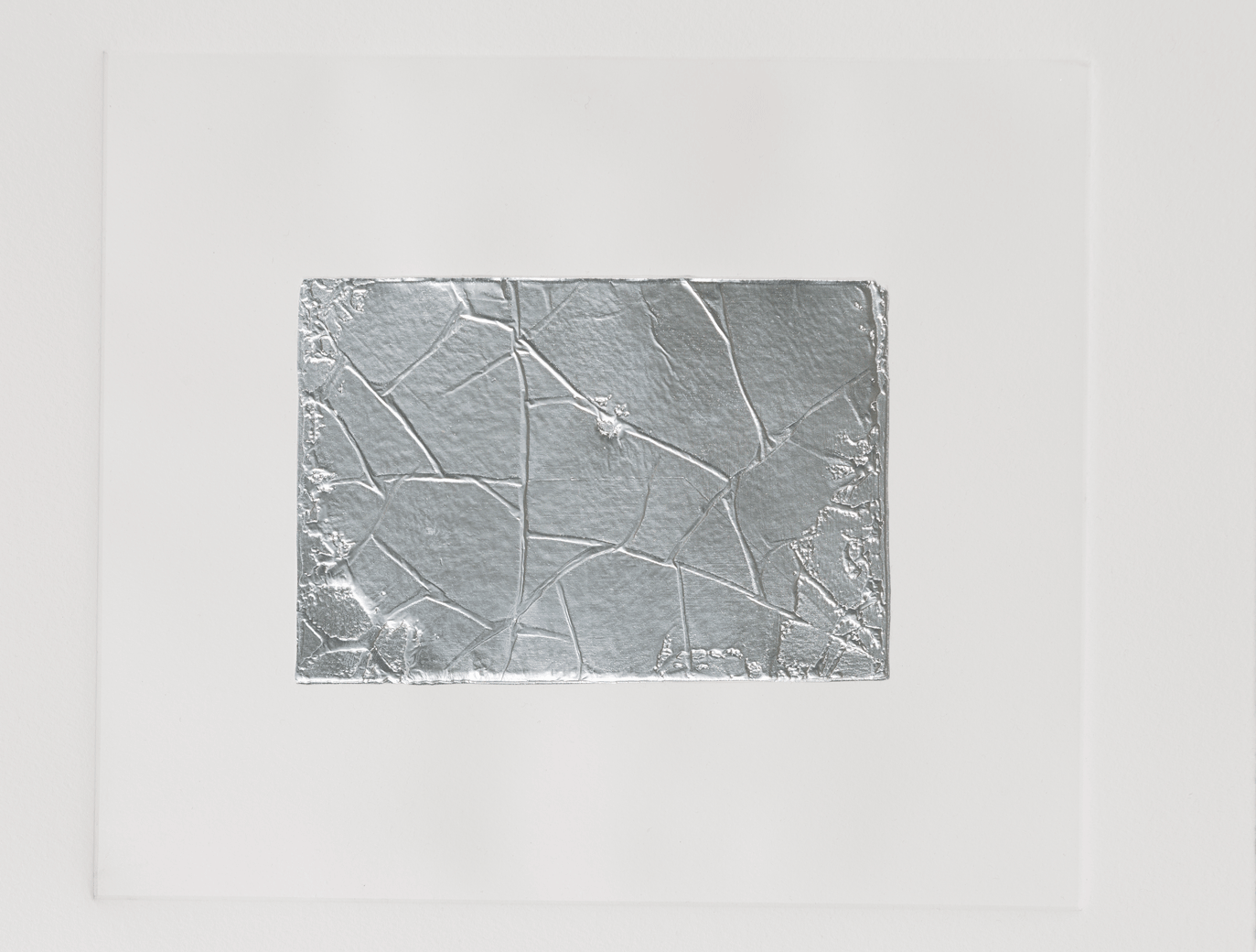 Against Photography, 2017, 12 Routed aluminum plates, 24 x 28 cm each, 4 Sets of intaglio and chine-collé prints, 27 x 31 cm each