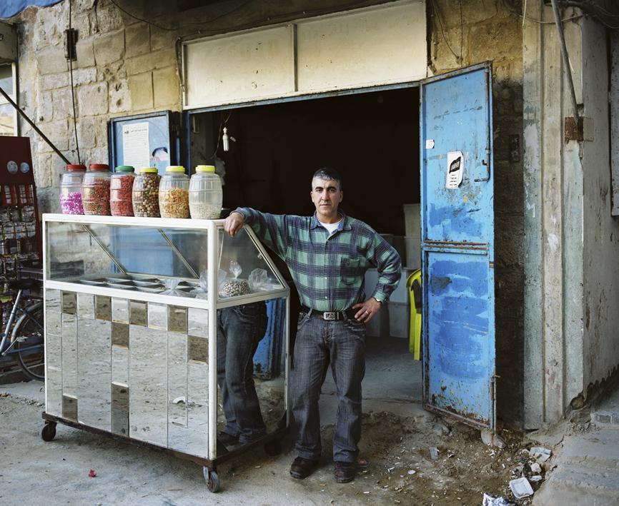 Hashem El Madani: Itinerary, 2007, 77, black and white, silver prints, 33 x 41 cm each, 31 color silver prints, 24 x 28 cm each