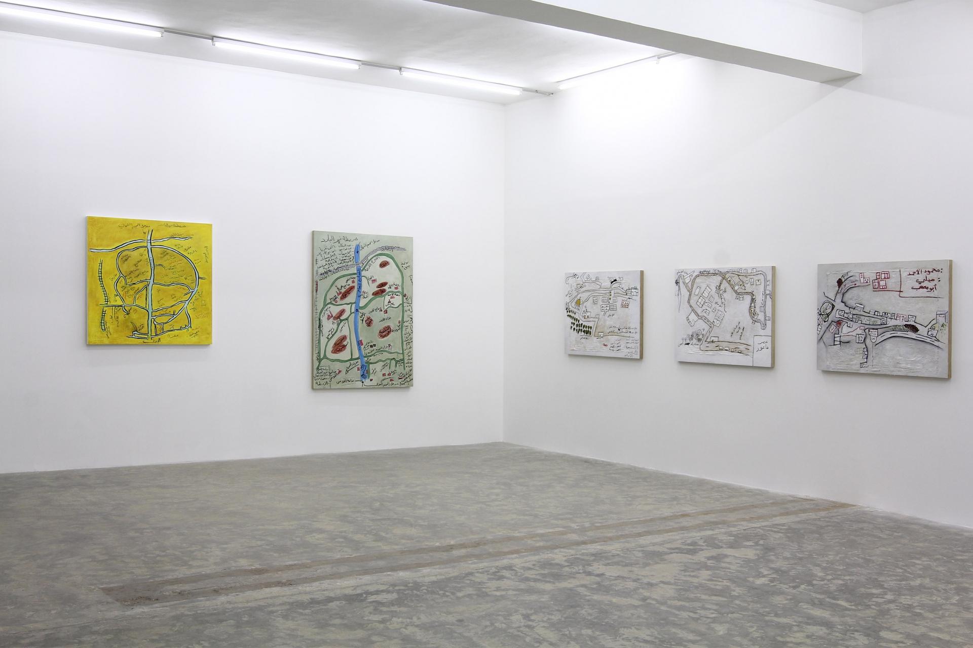 Landscapes, 2011, Exhibition view, Sfeir-Semler Gallery Beirut