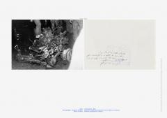 My neck is thinner than a hair_Engines (12 December 1984). 1996/2001, pigmented inkjet print, 24 x 34 cm
