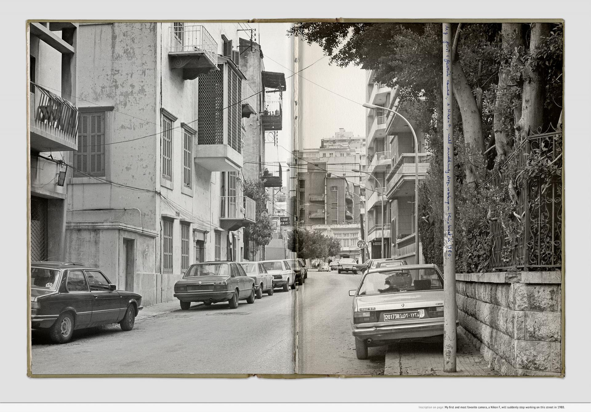 Sweet Talk. Commissions (Beirut) _ 1987.006, 1987-2019, inkjet print, 54.3 x 76.3 x 3.5cm, framed