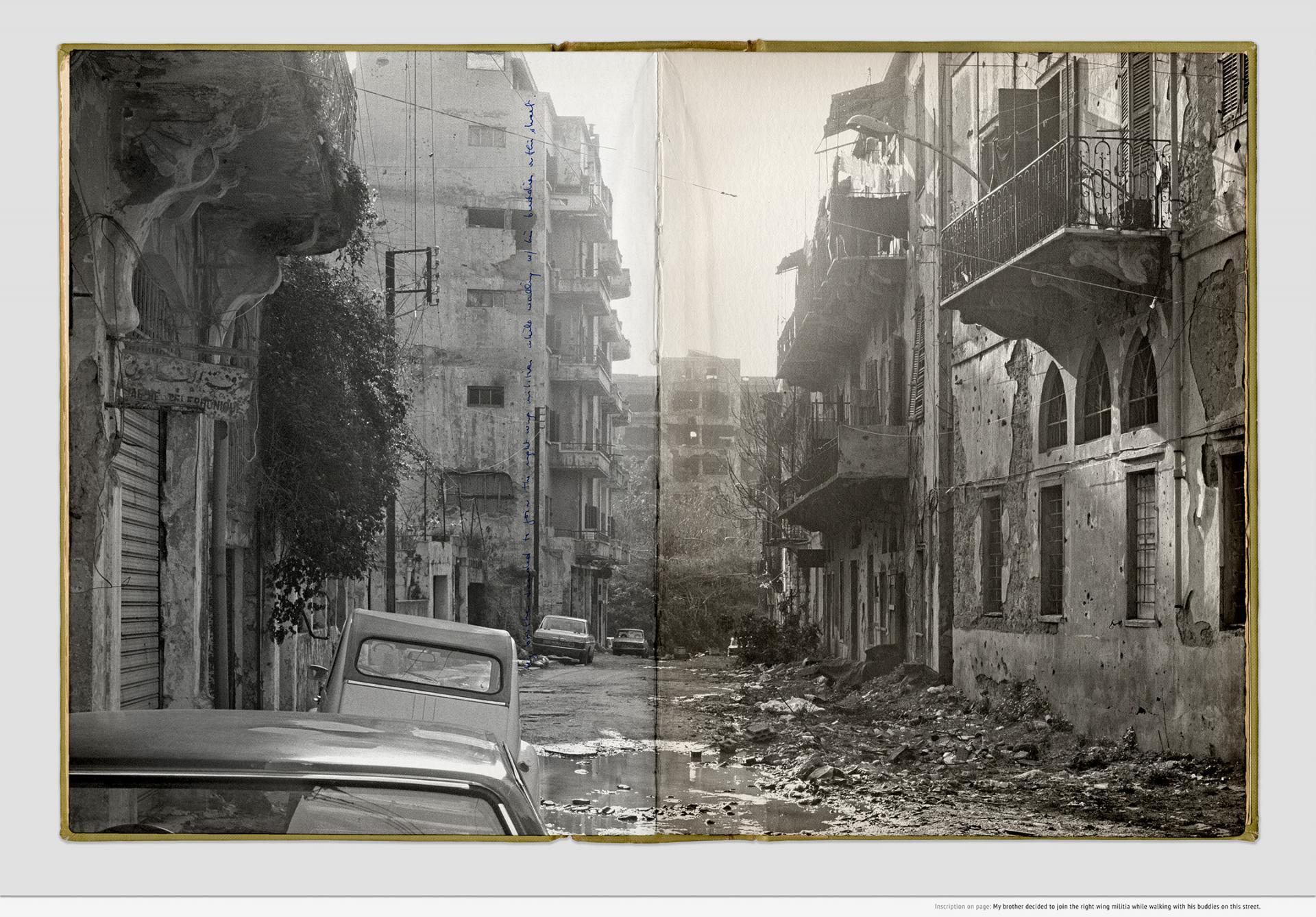 Sweet Talk. Commissions (Beirut) _ 1987.008, 1987-2019, inkjet print, 54.3 x 76.3 x 3.5cm, framed