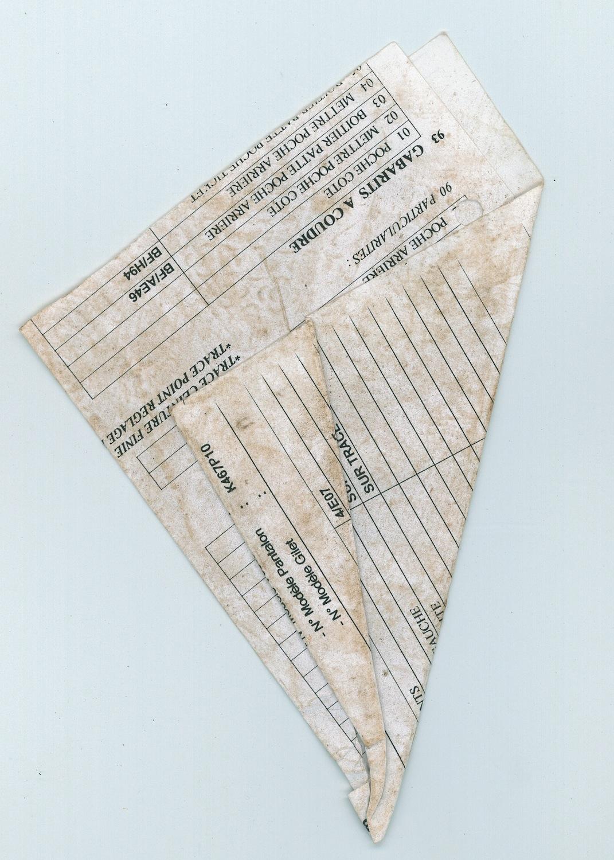 Papiers Pliés_fig 10, 2007, C-print, 40 x 30 cm
