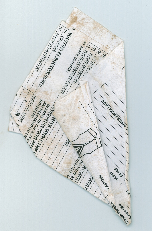 Papiers Pliés_fig 3, 2007, C-print, 40 x 30 cm
