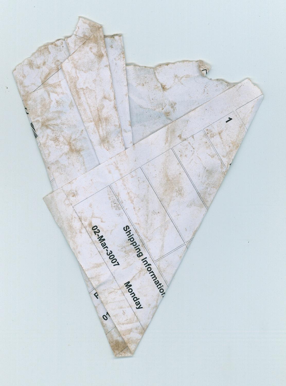 Papiers Pliés_fig 7, 2007, C-print, 40 x 30 cm