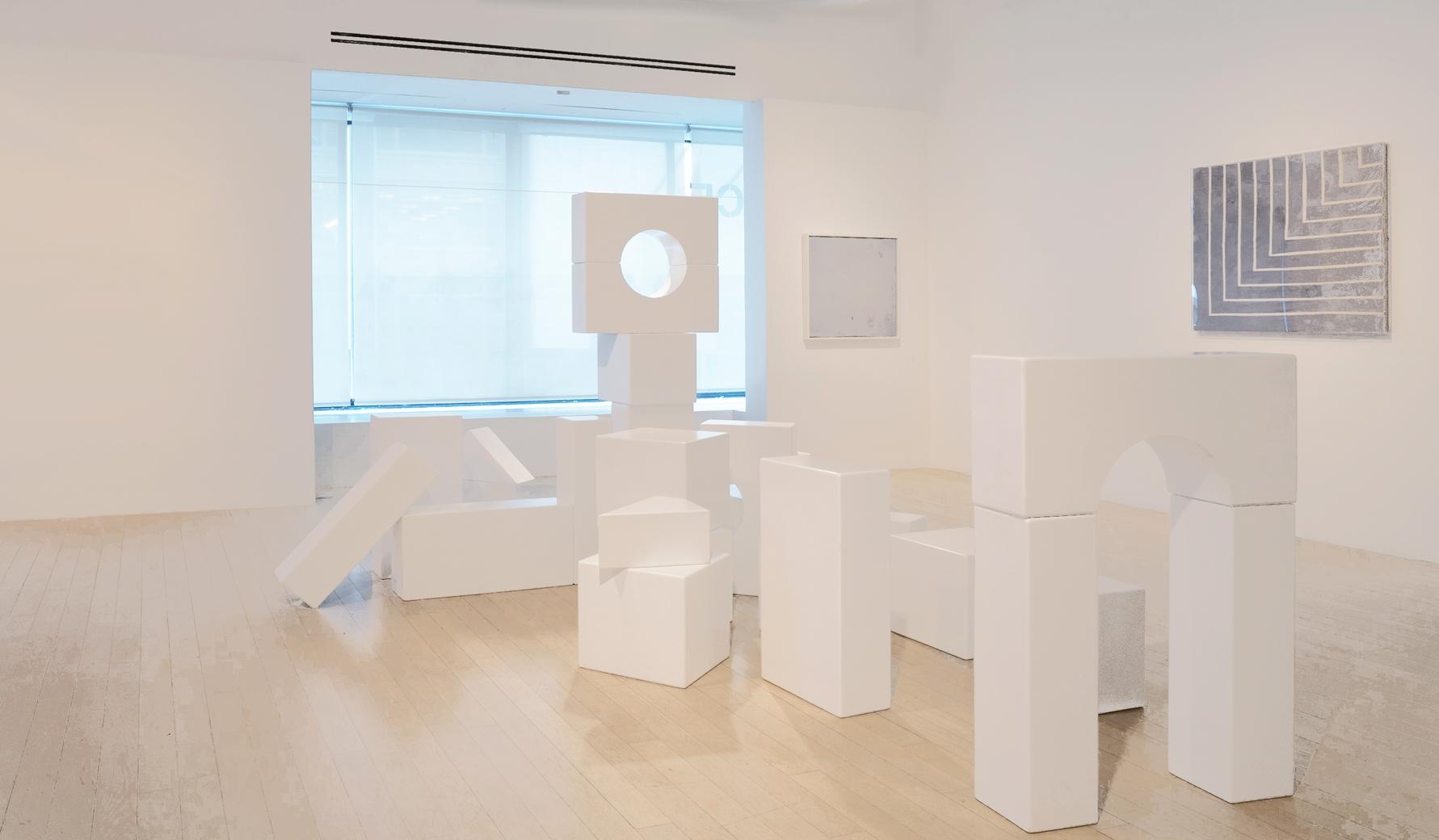 Jeu de construction Thérèse (Thérèse Unit Blocks), 2017, painted wood, dimensions variable