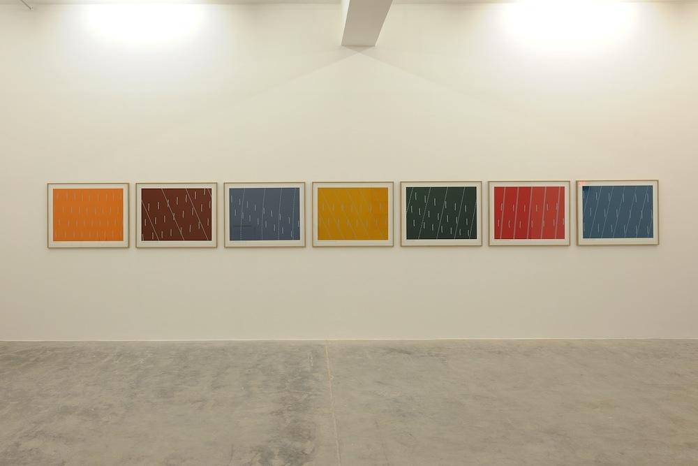 7 x Reef Points Prints 4.96.2 – 4.96.8, 1996 with Gary Hincks, Silkscreen, 70 x 90 cm each, Set of 7, Ed. 250