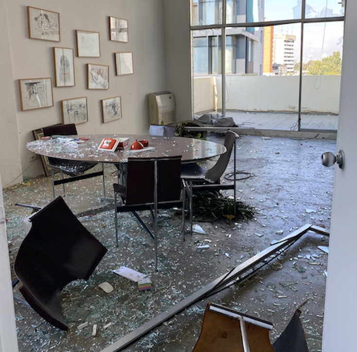 Beirut gallery after the blast