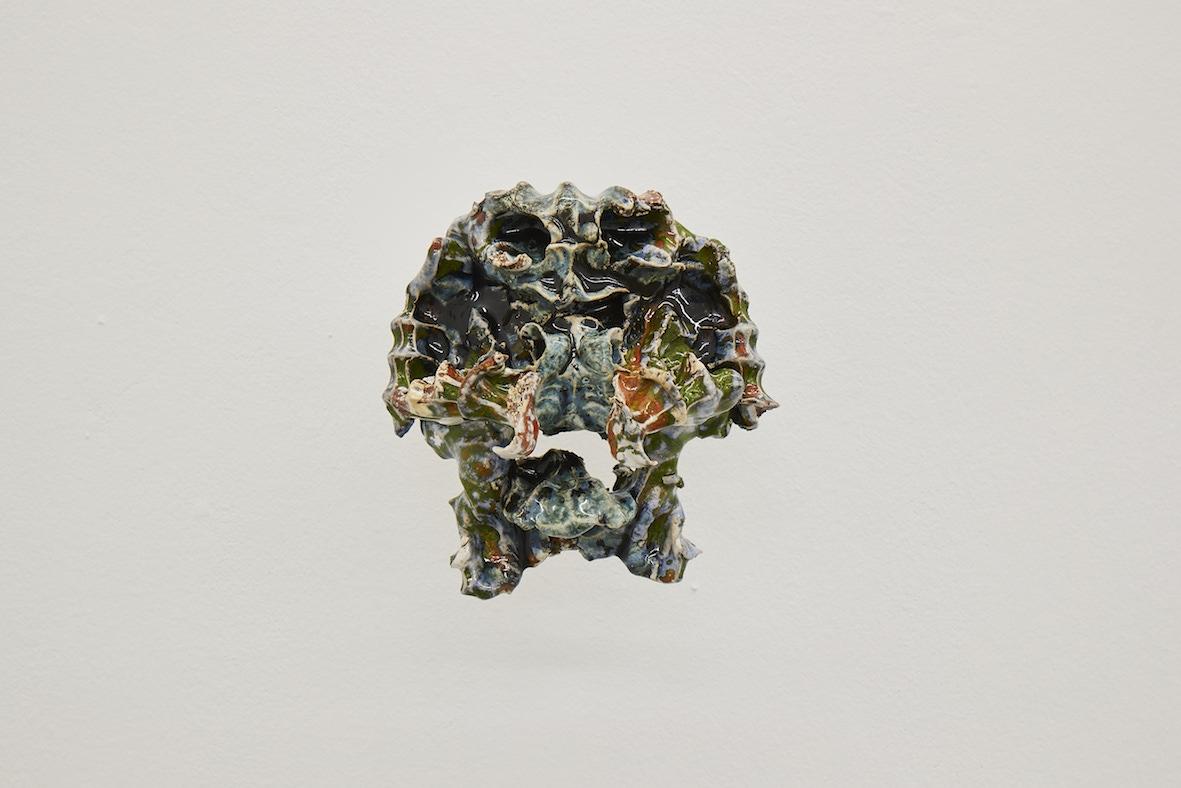 Moritz Altmann, sil, 2017, glazed ceramic, 22 x 21 x11 cm