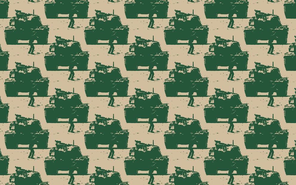 Fares Od_3, 2016, Wallpaper with motifs, 550 x 61 cm, Edition 7 + 3 AP