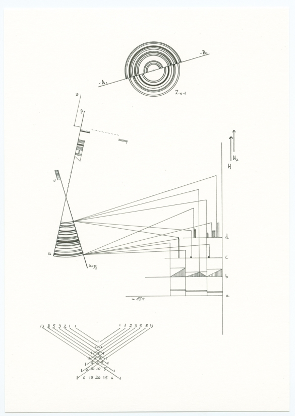 Timo Nasseri, O Time thy Pyramids, 2012, Pencil on paper, 20,5 x 14,9 cm
