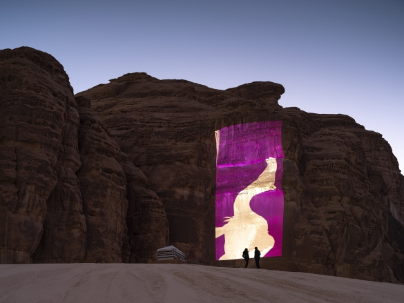 Dictums - Manqia II, Installation views, Desert X AlUla 2020, Photo Lance Gerber