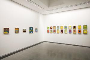 Etel Adnan: The Weight of the World, 2016, Exhibition view, Serpentine Sackler Gallery