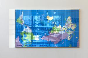 The United States of Palestine Airlines, 2007-ongoing, Exhibition view Kunsthaus Hamburg
