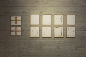 Untitled (Traces), 2015, Installation view, Mina Image Centre 2019