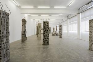 Marwan Rechmaoui, Pillars, 2014-ongoing, Exhibition view, Sfeir-Semler Gallery Beirut, 2021