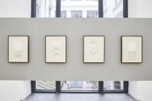 Rayyane Tabet, Decoupage, 1891-2021, 35,5 x 25,9 cm unframed_40,5x31,2cm_framed, Exhibition view Sfeir-Semler Gallery Hamburg 2021