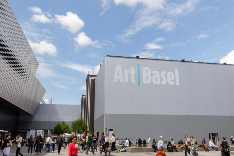 ART BASEL (canceled). This year's edition is available online as viewing rooms.